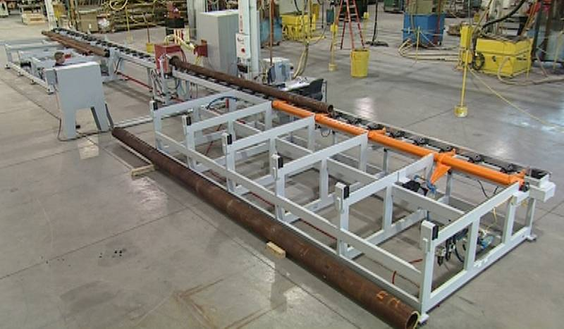Automation Amp Material Handling For Tube Amp Pipe